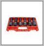 HCB-C2132 MAN STAR-E IMPACT SOCKET SET (HGV Zylinderkopf- BOLT) (6PCS) (E18 / E20 / E22 / E24 / 17mm / 19mm) (6 POINT)