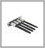 HCB-A2295 BMW / MERCEDES BENZ / AUDI / VW / VAUXHALL / OPEL AIR BAG TOOL (4 PCS)