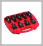 """HCB-C2230 3 / 4 \ """"SQ. DRIVE HEXAGON & TX-STAR IMPACT SOCKET BIT KIT (9PCS) (61mm) (19 / 21 / 22 / 23 / 24mm / T70 / 80 / 90 / 100)"""