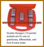"HCB-A2155 ANTRIEBSWELLE SPECIAL SOCKET SET (1 / 2 \ ""SQ)"