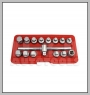 "HCB-B2124 3 / 8 \ ""OIL DRAIN SOCKET KIT (15 PCS)"