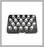 HCB-D2288 PORSCHE Radblockierung Schraubmuffe KIT (20 PCS)