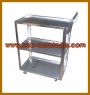 3-SHELF SERVICE CART (rostfreier Stahl)