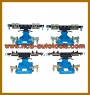 HCB-A3038 UNIVERSAL BASE FRAME CLAMP SET