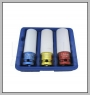 "HCB-A2184 3 PCS THIN WALL DEEP IMPACT SOCKET KIT (Dr. 1 / 2 \ "") (17mm / 19mm / 21mm)"