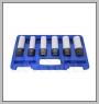 """HCB-C2184 6PCS IMPACT SOCKET KIT (Dr.1 / 2 \ """", MS17 & 15 / 17 / 19 / 21 / 22mm)"""