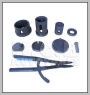 HCB-A1602 DAF-LKW DIFFERENTIAL BEFESTIGUNG TIE ROD BUSH AUSBAUEN / INSTALLATION TOOL KIT (70mm)